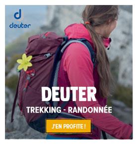 Profitez de notre large gamme de produits Deuter !
