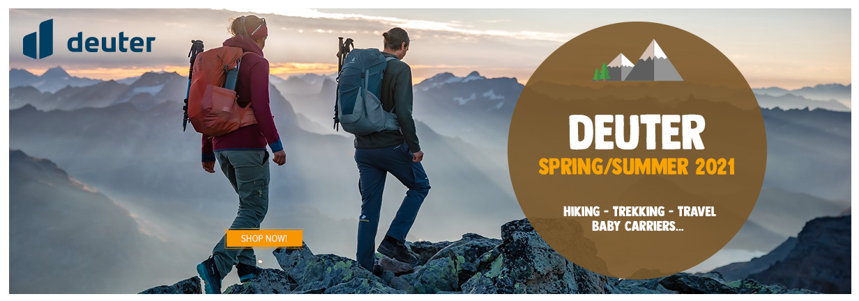 Discover our new arrivals Deuter about Spring/Summer season!