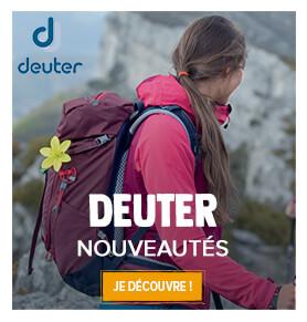 Découvrez les nouveautés de la marque Deuter !