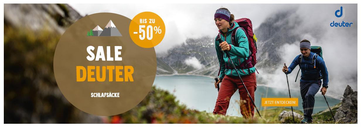 Sale und Deuter : Bis zu 50%