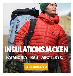 Jetzt Entdecken Insolationsjacken : Patagonia, Rab, Norrona !