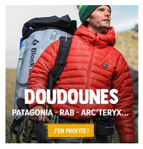 Découvrez tous les produits de notre rayon Doudounes : Patagonia, Rab, Norrona !