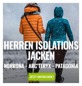 Entdecken Isolation Jacken : Norrona, Arc'Teryx, Millet…
