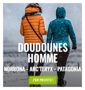 Le temps se refroidit. C'est le moment de profiter de notre collection Doudounes.