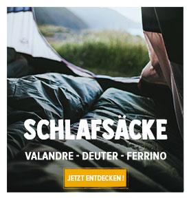 Jetzt entdecken Schlafsacke : Valandre, Deuter, Ferrino…