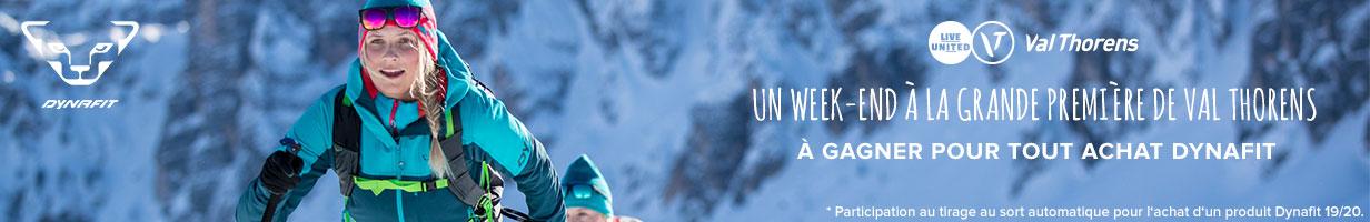 Un week-end à la Grande première de Val Thorens à gagner pour tout achat Dynafit !
