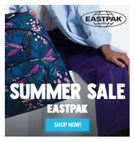 It's Summer sale on Eastpak! Come discover Eastpak's products on sale