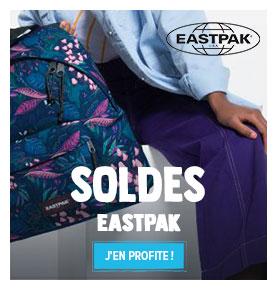 C'est les soldes Chez Eastpak ! Profitez de promotions jusqu'à -50% sur les produits de la marque