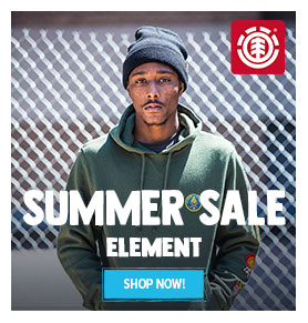 It's Summer sale! Come discover our Element's products on sale!