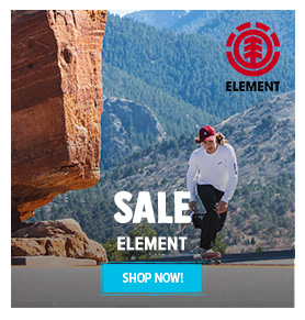 It's Summer sale on Element! Come discover Element's products on sale