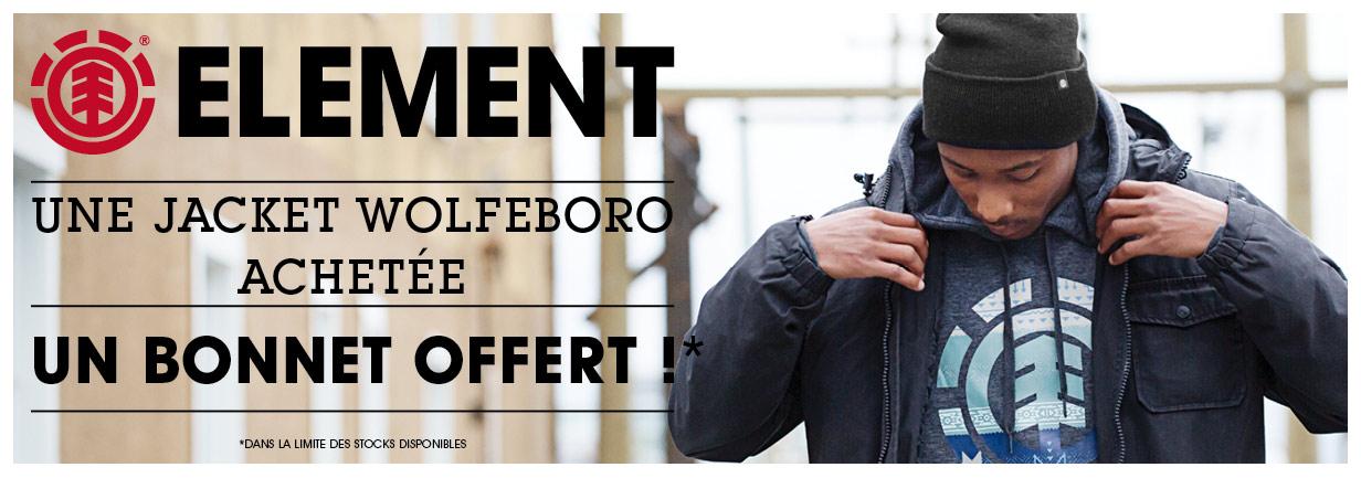 Un bonnet offert pour une Jacket Wolfeboro achetée !