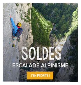 Escalade Alpinisme en soldes