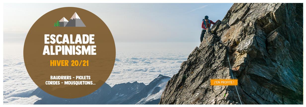 Trouvez votre équipement complet pour gravir les sommets ou découvrir le monde de l