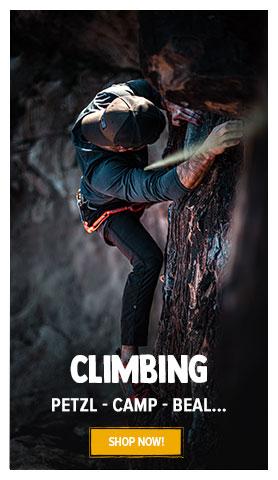 Come discover Climbing : Petzl, Beal, Camp…