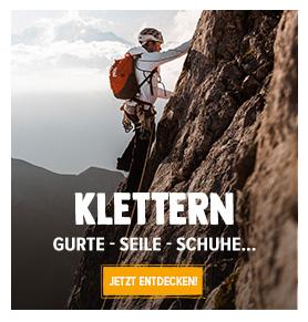 Entdecken Klettern: Petzl, Black Diamond, Beal...