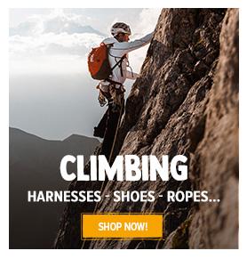 Discover climbing: Pztzl, Black Diamond, Beal...