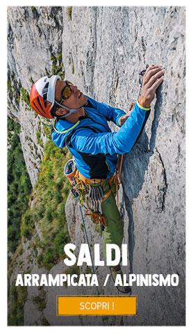 Saldi sopra Arrampicata/Alpinismo : Fino a 70%