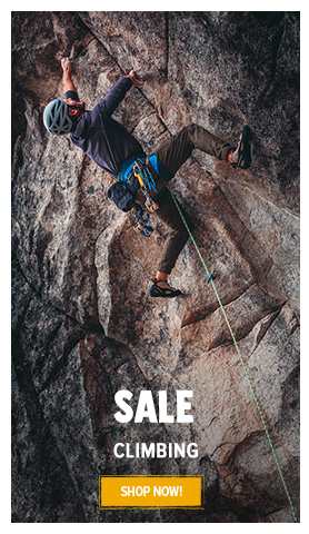 It's Summer sale! Come discover our Climbing assortment on sale