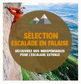 Découvrez notre sélection des indispensables pour la pratique de l'Escalade en falaise
