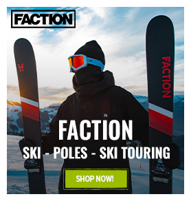 Discover the brand Faction: skis packs !