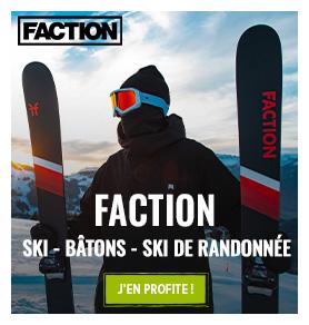 Découvrez la marque faction : packs skis alpin et rando !