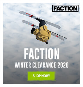 Winter Clearance for Faction! Shop now