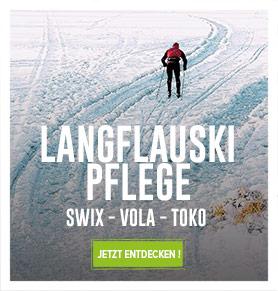 Lauglaufski Pflege : Swix, Vola, Toko