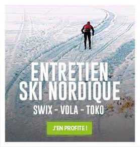 Découvrez notre collection pour farter vos skis de fond