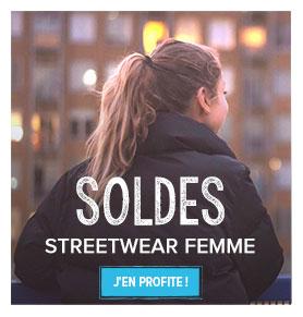Soldes streetwear femme!