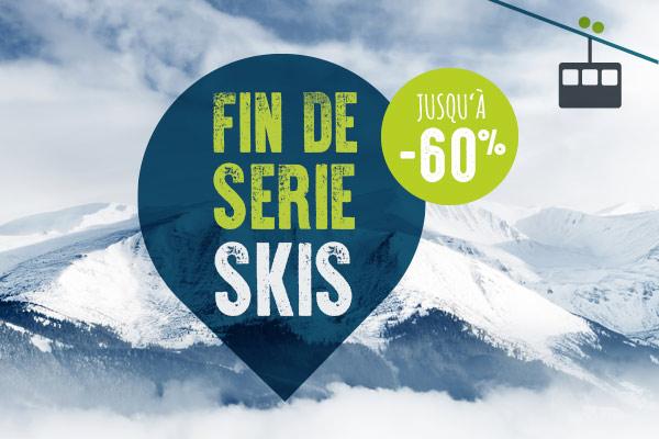 Profitez de nos fins de série ski