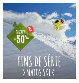 Jusqu'à -50% sur le matos ski !
