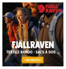 Découvrez les nouveautés textile rando et sac à dos Fjällraven !