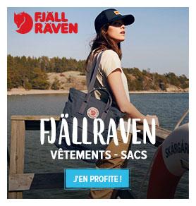 Profitez de notre large gamme de sacs et de vêtements Fjällraven !