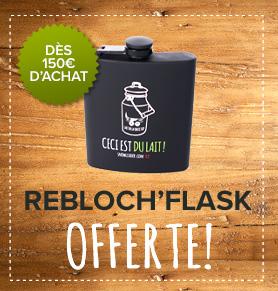 Rebloch'flask offerte dès 150€d'achat !