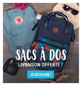 Snowleader vous offre les frais des port pour l'achat d'un sac à dos street!