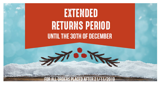 Returns possible after Christmas