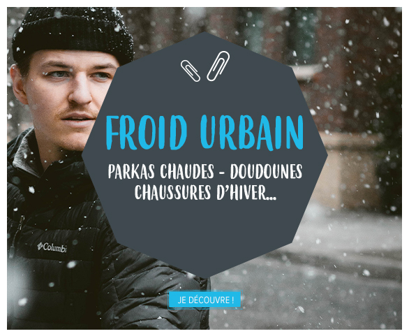 Froid urbain : The North Face, Patagonia, Pyrenex…