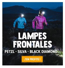Découvrez notre gamme de lampe frontale : Petzl, Black Diamond, Silva...
