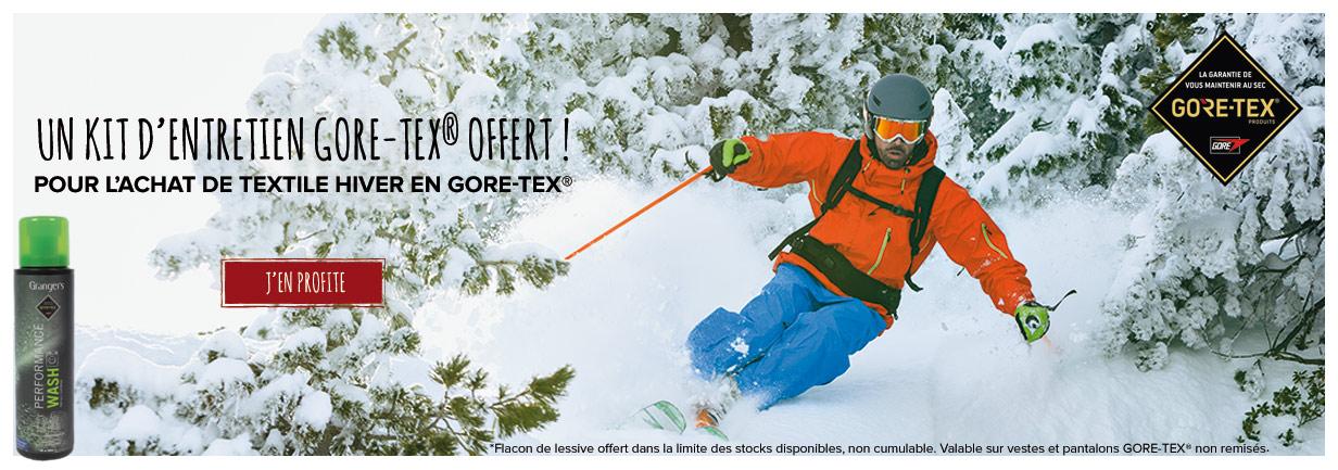 Un kit d'entretien Gore-Tex offert !
