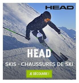 Skis et chaussures de ski Head !
