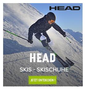 Entdecken Sie die Ski und Skischuhe von Head !
