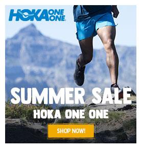It's Summer sale on Hoka One One! Until 30% off on Hoka's products