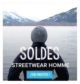 Soldes streetwear homme!