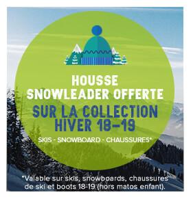 Une housse Snowleader offerte pour vos skis 18/19!