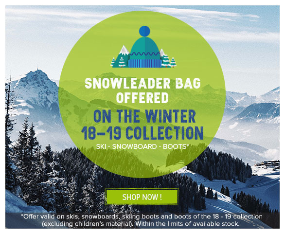 Snowleader ski case offered with the 17-18 snow collection