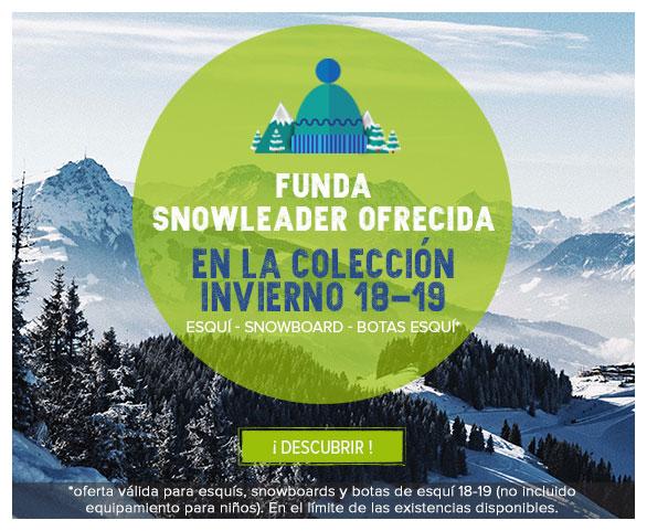 Funda Snowleader ofrecida en la colección invierno 17-18