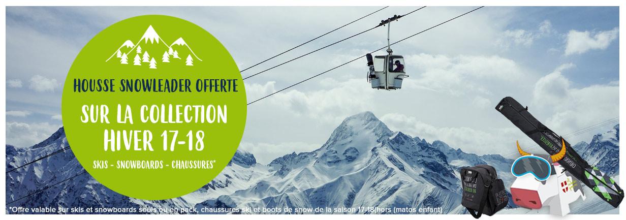 Nouvelles collections snow : housse offerte sur le matos !