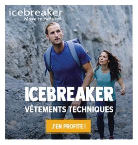 Profitez de notre large gamme de vêtements techniques Icebreaker !