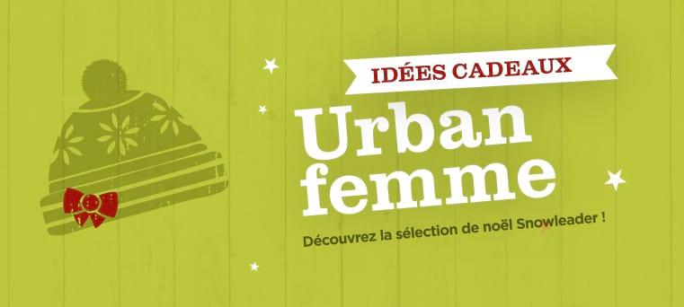 idées cadeaux urban femme