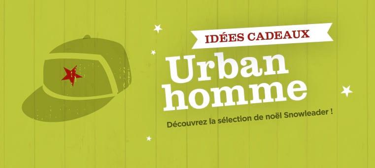 idées cadeaux urban homme